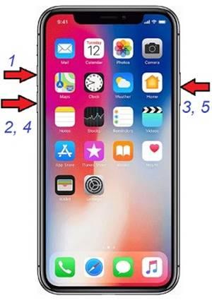 iPhone X DFU Moduna Alma