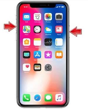 iPhone X Ekran Görüntüsü Alma