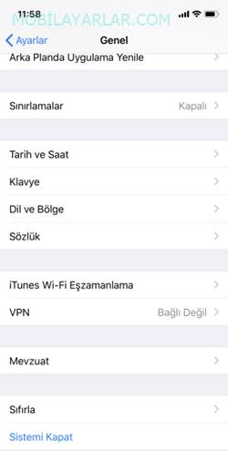 iPhone X Format Atma