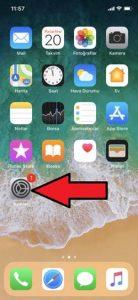 iPhone X Klavye Sözlüğünü Sıfırlama