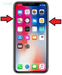 iPhone X reset atma