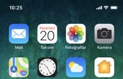 iPhone X Uygulama Silme