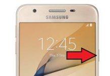 Samsung Galaxy J5 Prime Parmak İzi Ekleme