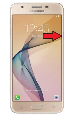 Samsung Galaxy J5 Prime parmak izi ekleme