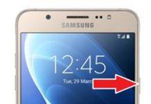 Samsung Galaxy J7 2016 Ağ Ayarlarına Sıfırlama