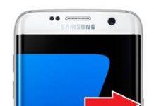 Samsung Galaxy S7 Edge Parmak İzi Ekleme