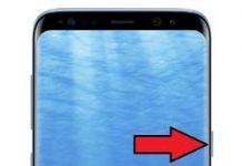 Samsung Galaxy S8 parmak izi ekleme