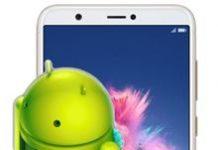 Huawei Enjoy 7S fabrika ayarlarına döndürme
