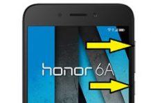 Huawei Honor 6A format atma