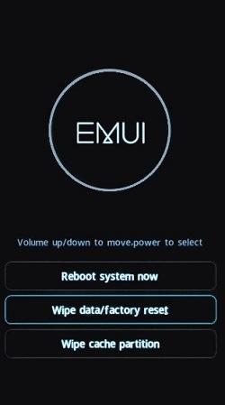 Huawei kurtarma modu ekranına alma