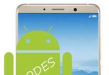 Huawei Mate 10 kodlar