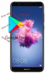 Huawei P Smart Play Store hataları