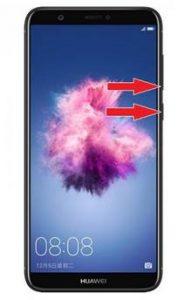 Huawei P Smart ekran görüntüsü alma