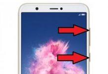 Huawei P Smart kurtarma modu ekranına alma