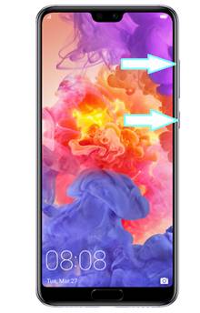 Huawei P20 Pro format atma