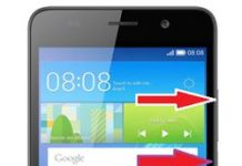 Huawei Y6 format atma