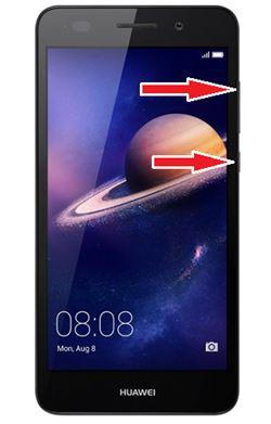 Huawei Y6II format atma