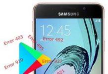 Samsung Galaxy A3 2016 Play Store hataları