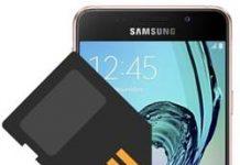 Samsung Galaxy A3 2016 SD kart biçimlendirme