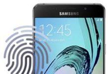 Samsung Galaxy A5 2016 Parmak İzi Ekleme