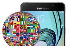 Samsung Galaxy A5 2016 dil değiştirme