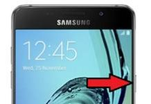Samsung Galaxy A5 2016 ekran görüntüsü alma