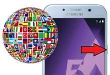Samsung Galaxy A5 2017 Dil Değiştirme
