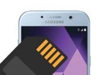 Samsung Galaxy A5 2017 SD Kart Biçimlendirme