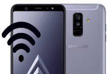 Samsung Galaxy A6 Plus Ağ Ayarlarına Sıfırlama