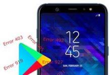 Samsung Galaxy A6 Plus Play Store hataları
