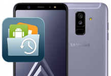 Samsung Galaxy A6 Plus Veri Yedekleme