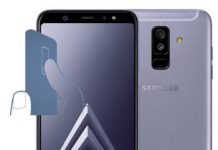 Samsung Galaxy A6 Plus parmak izi ekleme