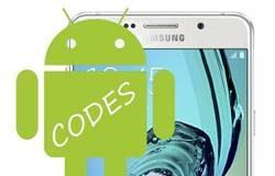 Samsung Galaxy A7 2016 Kodlar