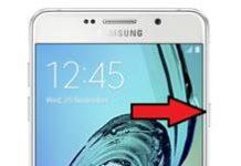 Samsung Galaxy A7 2016 ekran görüntüsü alma