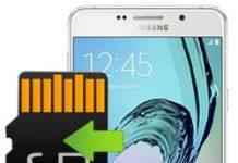 Samsung Galaxy A7 2016 uygulamaları hafıza kartına taşıma