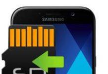 Samsung Galaxy A7 2017 Hafıza Kartına Uygulama Taşıma