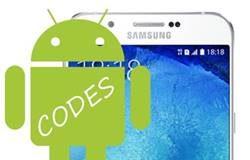 Samsung Galaxy A8 2015 Kodlar