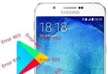 Samsung Galaxy A8 2015 Play Store hataları