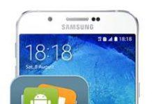 Samsung Galaxy A8 2015 Veri Yedekleme