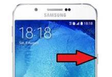 Samsung Galaxy A8 2015 ekran görüntüsü alma