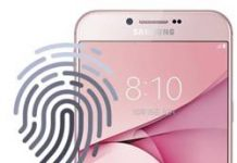 Samsung Galaxy A8 2016 parmak izi ekleme