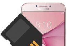 Samsung Galaxy A8 2016 SD kart biçimlendirme