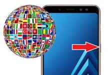 Samsung Galaxy A8 2018 Dil Değiştirme