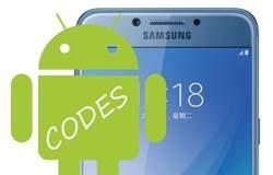 Samsung Galaxy C5 Pro Kodlar