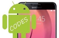 Samsung Galaxy C7 Kodlar