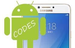 Samsung Galaxy C7 Pro Kodlar