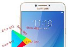Samsung Galaxy C7 Pro Play Store hataları