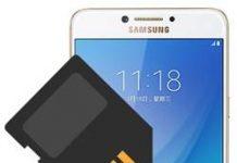Samsung Galaxy C7 Pro SD kart biçimlendirme