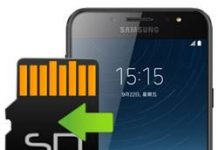 Samsung Galaxy C8 Hafıza Kartına Uygulama Taşıma