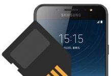 Samsung Galaxy C8 SD kart biçimlendirme